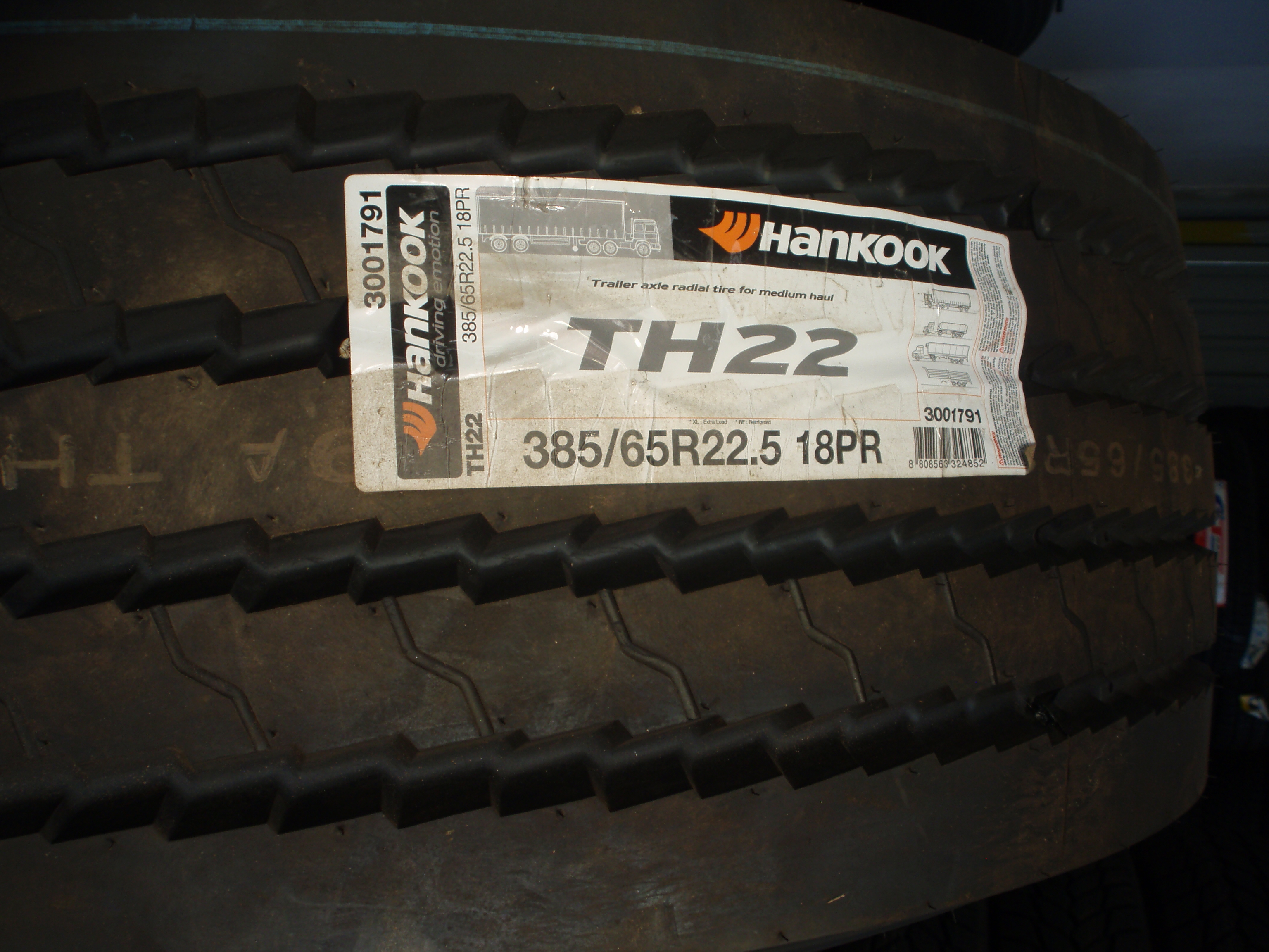 Hankook TH 22 385/65 R22,5 158L