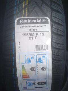 205/65 R15 94T Continental ContiWinterContact TS850
